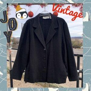 Sarah Bentley Sparkly Holiday Blazer, Vintage EUC